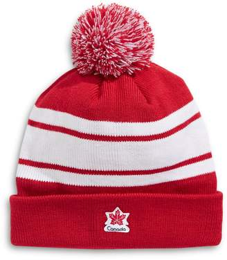 Canadian Olympic Team Collection Fleece Colorblock Pom Tuque