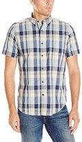 Nautica Men's Classic Fit Plaid Short Sleeve Shirt