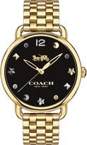 Coach 14502813 Delancey Slim gold-plated watch