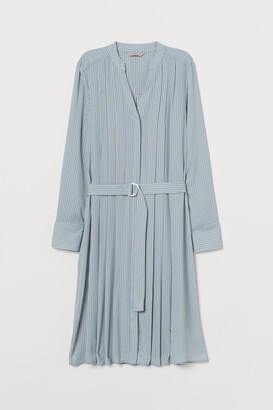 H&M Pleated Dress - Beige