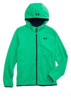 Under Armour Boy's Coldgear Reactor Hybrid Hooded Jacket