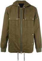 Balmain hooded coat - men - Cotton - M