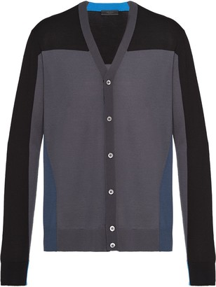 Prada Worsted wool cardigan