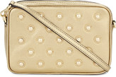MICHAEL Michael Kors Studded leather cross-body bag