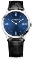 Baume & Mercier My Classima 10324 Stainless Steel & Alligator-Embossed Leather Strap Watch