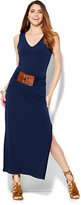 New York & Co. Belted Sleeveless Maxi Dress