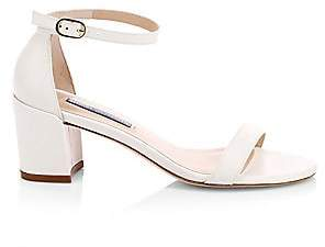 Stuart Weitzman Women's Simple Leather Sandals