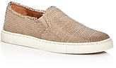 Frye Ivy Woven Leather Slip-On Sneakers