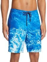 Surfside Supply Ocean Print Swim Trunks