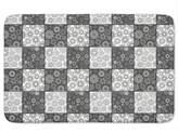 uneekee Stars On The Chessboard Bathroom Rugs
