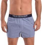 Nick Graham Men's 3-pack Modern-Fit Patterned Cotton Boxer Briefs