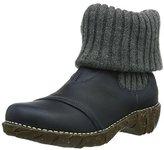El Naturalista Nw097 P.grain Ocean / Yggdrasil, Women's Ankle Boots