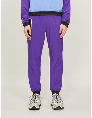 Kenzo Zipped-pocket shell jogging bottoms