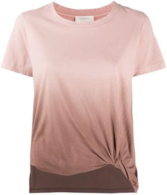 Zanone tonal gradient print T-shirt
