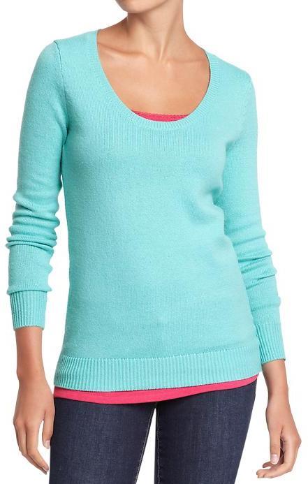 Old Navy Women's Scoop-Neck Softest Sweaters