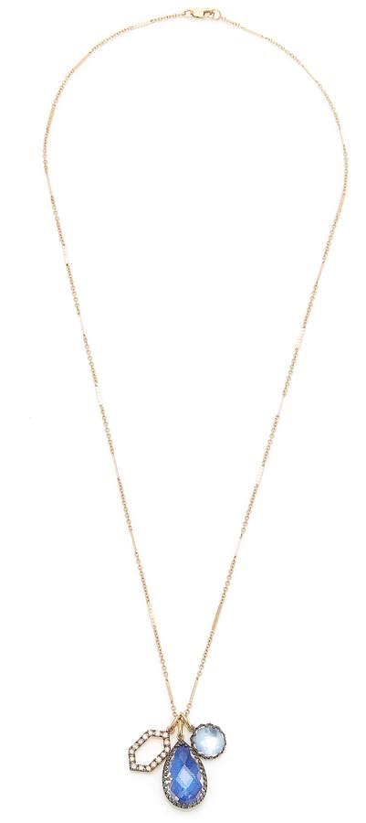 Larkspur & Hawk Lady Emily 14K Gold, Black Rhodium, Sterling Silver An