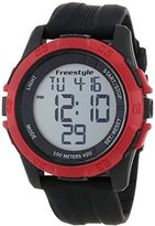 Freestyle Unisex 101985 Sport Watch with Black Silicone Band
