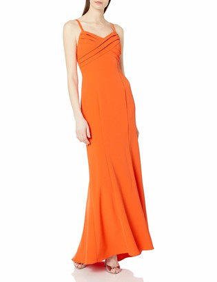 Adrianna Papell Women's Pleated Mermaid Gown