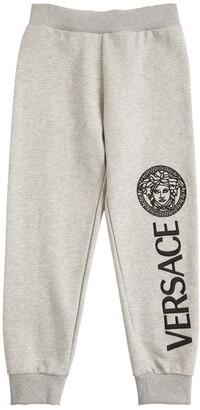 Versace Cotton Sweatpants W/ Logo