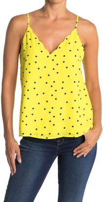 Socialite Scalloped V-Neck Camisole
