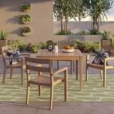 Threshold James 5-pc. Wood Patio Dining Set
