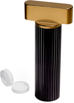 Black & Gold Pill Holder