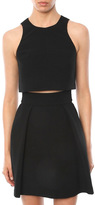 Black Halo Sanibel 2 Piece Mini Dress