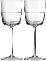 Vera Wang Wedgwood Bande Wine Glasses (Set of 2)