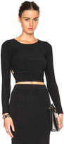 Jonathan Simkhai Angle Cut Out Top