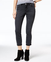Jessica Simpson Forever Cuffed Black Wash Skinny Jeans