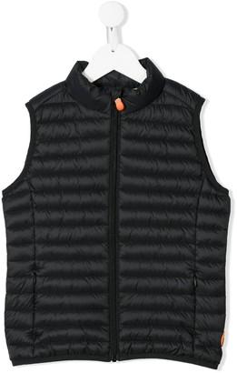 Save The Duck Kids Plain Padded Vest