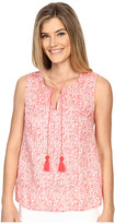 Tommy Bahama Paisley Party Smocked Tank Top
