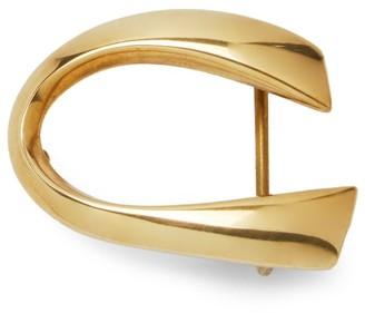 Corthay Classic C Belt Brass Buckle