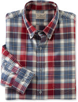 L.L. Bean Wrinkle-Free Heathered Sport Shirt, Slightly Fitted