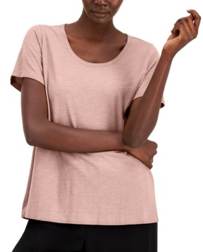 Eileen Fisher Organic Cotton T-Shirt, Available in Regular & Petite Sizes