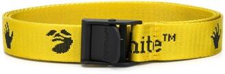 Off-White mini jacquard logo Industrial belt