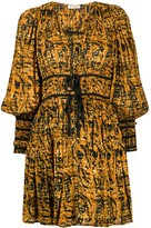 Ulla Johnson Kesia ruched waist dress