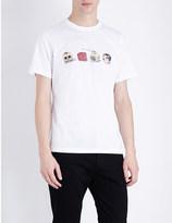 Paul Smith 3D dice cotton-jersey t-shirt