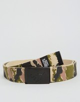 Abuze London Clip Belt With Camo Print