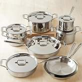 All-Clad d5 Stainless-Steel 15-Piece Cookware Set