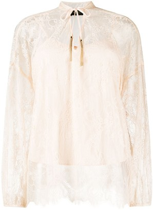 Liu Jo Lace Embroidered Blouse