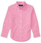 Ralph Lauren Childrenswear Poplin Check Shirt