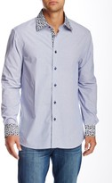 Brio Solid Long Sleeve Contemporary Fit Dress Shirt