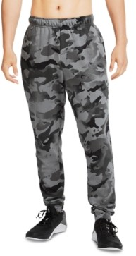 Nike Men's Dri-fit French Terry Camo Training Pants
