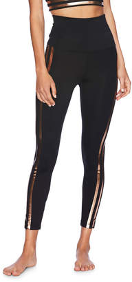Beach Riot Jade Leggings With Rose Gold