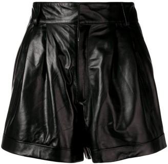 Manokhi Micro Pleated Shorts
