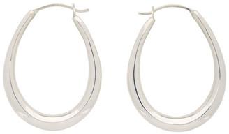 Sophie Buhai Silver Small Egg Hoop Earrings