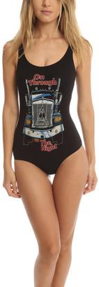 MadeWorn Rock Def Leppard Bodysuit