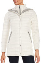 Vince Camuto Mid Length Hooded Puffer Coat