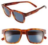 Salvatore Ferragamo Men's 51Mm Polarized Sunglasses - Light Tortoise